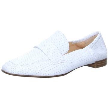 Högl Klassischer Slipper weiß