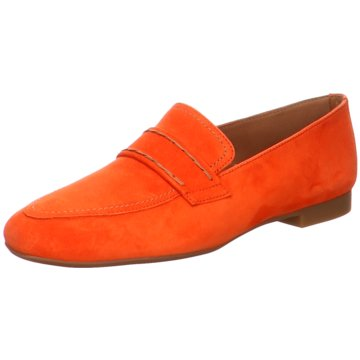 Paul Green Klassischer Slipper orange