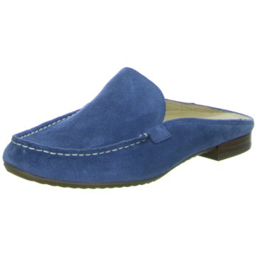 Paul Green Komfort Pantolette blau