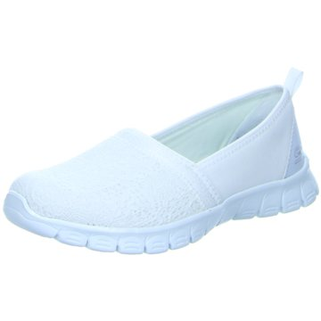 Skechers Komfort Slipper weiß