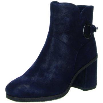 Fashion-Stiefelette in blau, Stiefeletten für Damen Gr. 36 Tamaris