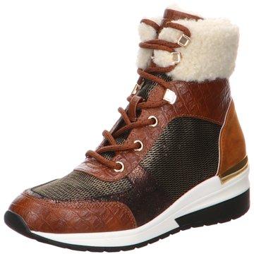 La Strada Sneaker Wedges braun