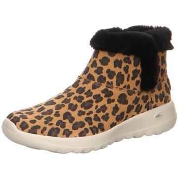 Skechers WinterbootOn-The-Go - Joy - Snow Kitty braun