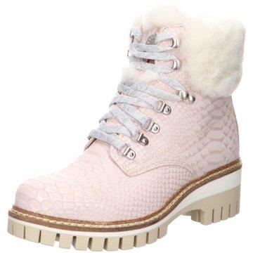 New Italia Shoes Top Trends Stiefeletten rosa