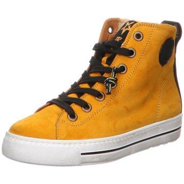 Paul Green Sneaker High gelb