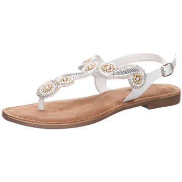 Lazamani Sandalette weiß