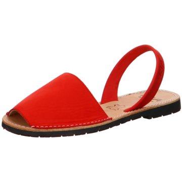 Ria Menorca Top Trends Sandaletten rot