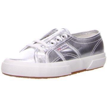Superga Top Trends Sneaker silber