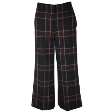 Rich & Royal StoffhosenWide Pants blau