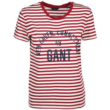Gant T-Shirts rot