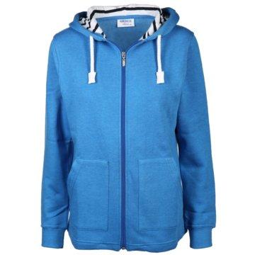 wind sportswear Kapuzenjacken blau