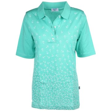 wind sportswear Poloshirts grün