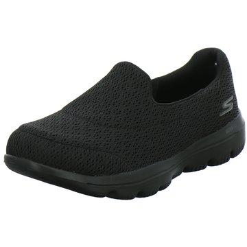 Skechers Sportlicher Slipper schwarz