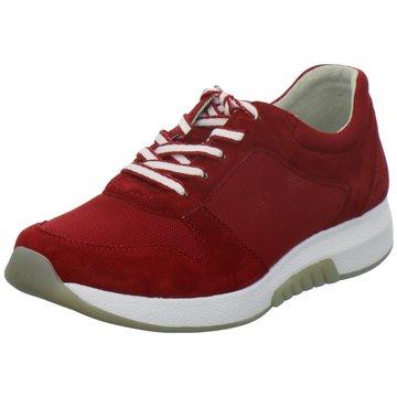 Gabor Komfort SchnürschuhSneaker rot