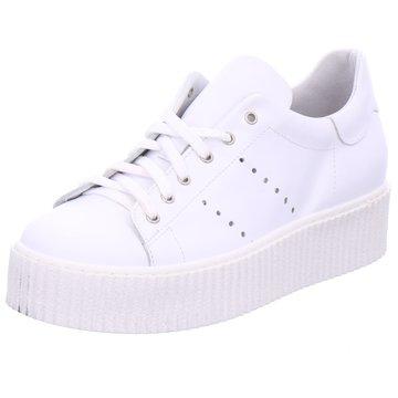 Mery Plateau Sneaker weiß