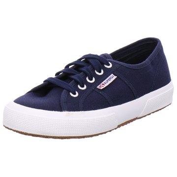 Superga Sneaker Low blau
