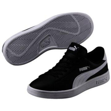 Puma Sneaker Low SMASH V2 L JR - 365170 schwarz