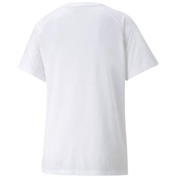 Puma T-ShirtsEVOSTRIPE TEE - 589143 weiß
