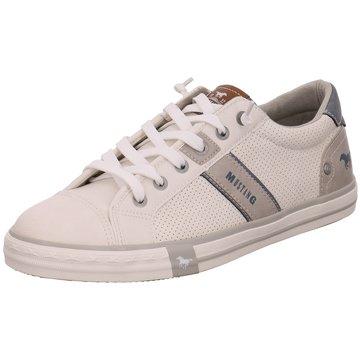MUSTANG Hommes Sneaker Low Blanc