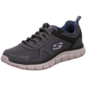 Skechers Sneaker LowTrack Scloric grau
