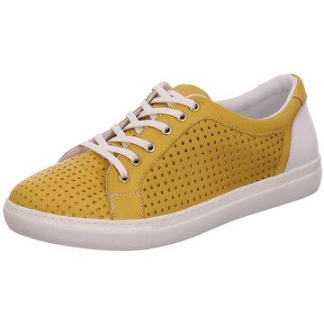 Safe Step Komfort Schnürschuh gelb