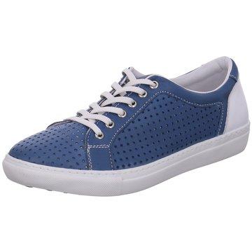 Safe Step Komfort Schnürschuh blau