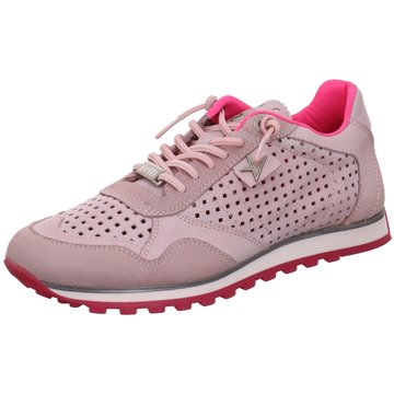 Cetti Sportlicher Schnürschuh rosa