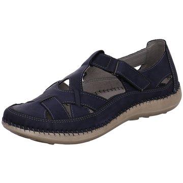 Free Walk Komfort Slipper blau