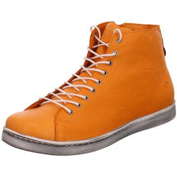 Andrea Conti Komfort Stiefelette orange
