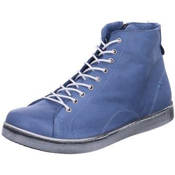 Esgano Komfort Stiefelette blau