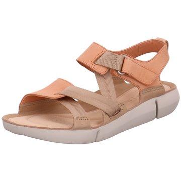 Clarks Komfort Sandale orange