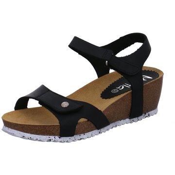 Marila Komfort Sandale schwarz
