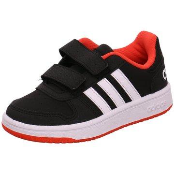 adidas KlettschuhHoops 2.0 CMF C schwarz