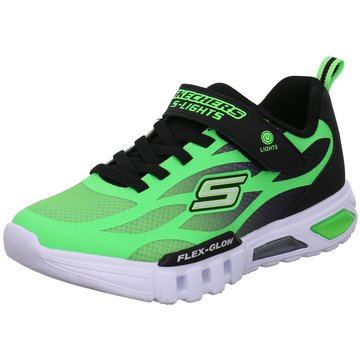 Skechers Sneaker LowFLEX-GLOW - DEZLOM - 400016L LMBK grün