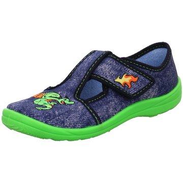 Fischer Schuhe HausschuhDrachen blau