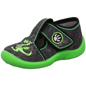 Fischer Schuhe HausschuhDrachen grün