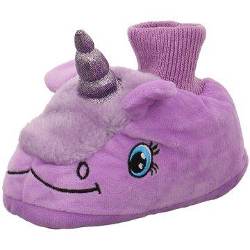 Hengst Footwear HausschuhEinhorn lila