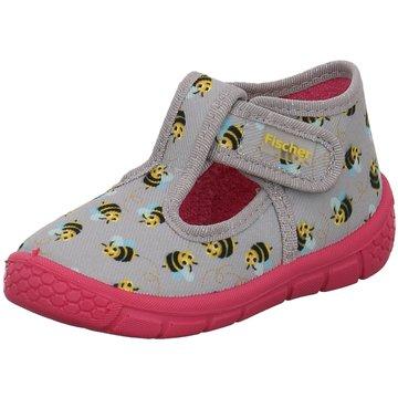 Fischer Schuhe Kleinkinder MädchenBienen grau