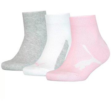 Puma Hohe SockenKIDS BWT QUARTER 3P - 100000970 pink