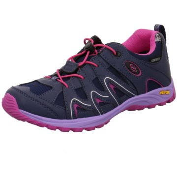 Brütting Wander- & BergschuhVision Low Kids lila