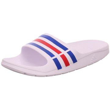 adidas Offene Schuhe weiß