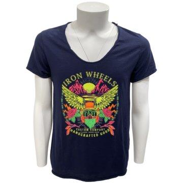Imperial T-Shirts print blau