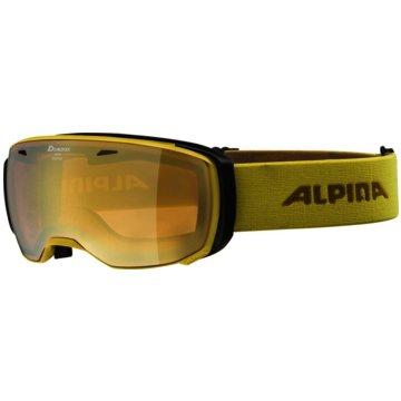 ALPINA Ski- & Snowboardbrillen gelb