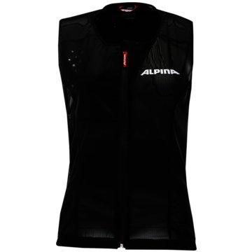 ALPINA Rückenprotektoren schwarz
