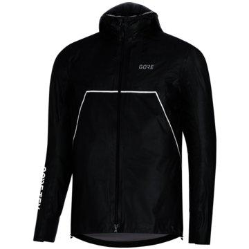 Gore Running Wear Regenjacken schwarz