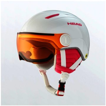 Head SkihelmeMAJA VISOR  - 328170 weiß