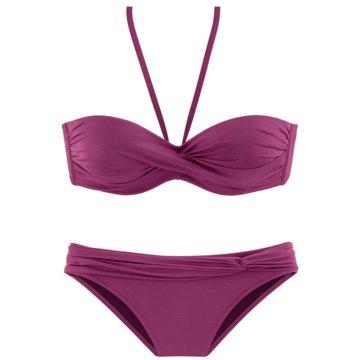 Lascana Bikini SetsBÜGEL-BANDEAU-BIKINI - 368708 rot