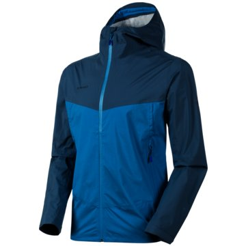 Mammut FunktionsjackenALBULA HS HOODED JACKET MEN - 1010-27800 50387 blau