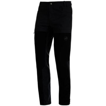 Mammut OutdoorhosenZINAL GUIDE PANTS MEN - 1022-01140 schwarz