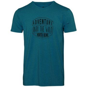 North Bend T-ShirtsVERTICAL M - 1059919 blau
